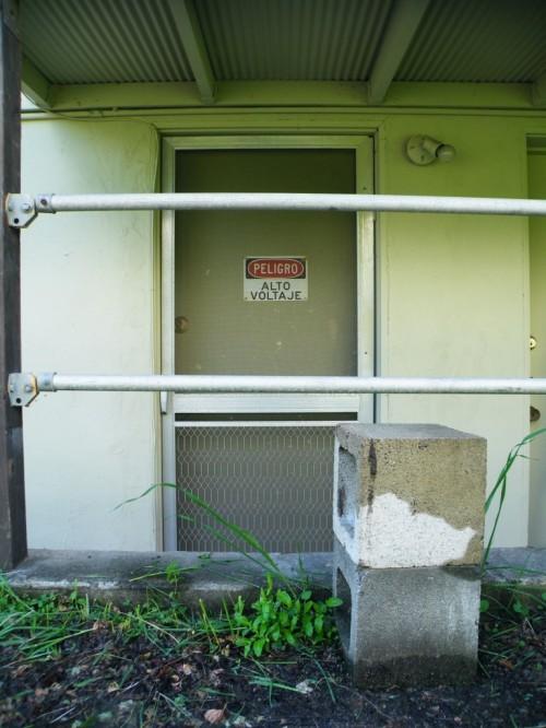 Studio front door